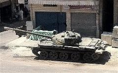 Армия Асада начала штурмовать два сирийских города. Фото: telegraph.co.uk