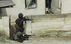 Спецназ в Назрани. Фото с сайта nak.fsb.ru