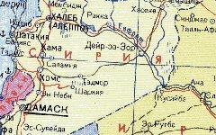 Сирия на карте. Изображение с сайта estet-v.ru