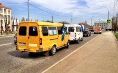 Данила Линдэле. в твиттере, что в Астрахани началась забастовка водителей маршрутных такси.