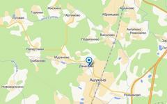Деревня Данилово на карте maps.yandex.ru