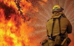 Пожарные справились с огнем в жилом доме в Новосибирске