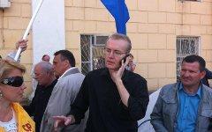 Олег Шеин. Фото Георгия Албурова из Twitter (@alburov)