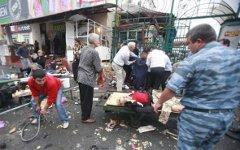 Последствия взрыва во Владикавказе; фото с cyxymu.livejournal.com