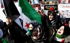 Волнения в Сирии; фото взято с ЕРА