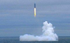 Запуск ракеты «Булава»; фото с atomic-energy.ru