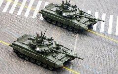 Танки Т-90. Фото пресс-службы Министерства обороны с сайта mil.ru