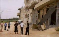 Алеппо. Кадр с видео очевидцев в Youtube