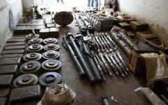 Тайник боевиков. Фото с сайта Национального антитеррористического комитета