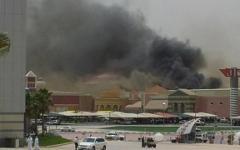 Пожар в Villagio Mall. Фото очевидцев из Twitter