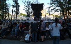 Лагерь оппозиции на Кудринской площади © KM.RU, Елена Колебакина