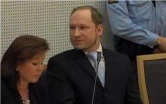Андерс Брейвик. Кадр телеканала Euronews