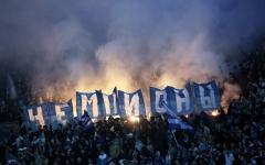 Болельщики «Зенита» на матче с «Динамо». Фото: fc-zenit.ru