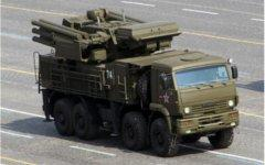 ЗРПК «Панцирь-С1». Фото с сайта mil.ru