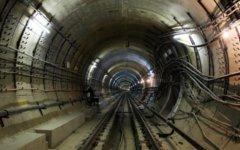 Перегон между станциями московского метро. Фото с сайта metrofoto.ru