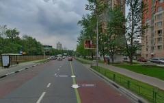 Улица Удальцова. Изображение сервиса «Яндекс.Карты»