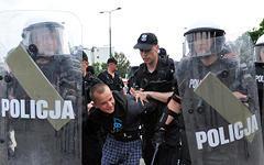 Фанатские беспорядки в Варшаве © РИА Новости, Владимир Песня