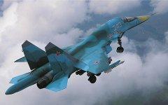 Бомбардировщик Су-34. Фото с сайта sukhoi.org