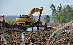 Строительство в Цаговском лесу © РИА Новости, Артем Житенев