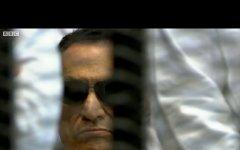 Хосни Мубарак. Кадр из видеоролика BBC с сайта bbc.co.uk