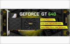Palit GeForce GT 640. Изображение с сайта palit.biz