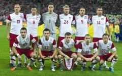 Сборная Польши. Фото с сайта euro-2012.com
