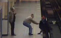 Инцидент в питерском метро. Скриншот с видео Life News