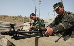 Солдаты армии Нагорного Карабаха © РИА Новости, Илья Питалев