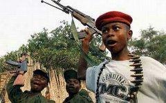 Дети-солдаты в Конго. Фото с сайта pacebutler.com