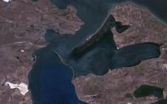 Керченский пролив. Фото с сайта wikipedia.org