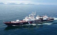Сторожевой пограничный корабль. Фото с сайта svrpu.ru