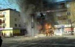 Взрыв в Малгобеке. Фото с сайта aksakal.info