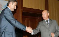 Александр Ткачев и Владимир Путин © РИА Новости, Сергей Жуков