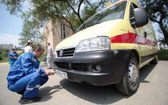 Скорая помощь с «губернаторскими» номерами. Фото с сайта primorsky.ru