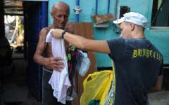 Помощь пострадавщим от наводнения © РИА Новости, Владимир Астапкович