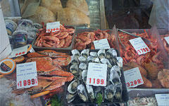 Морепродукты. Фото David Jackmanson с сайта wikipedia.org