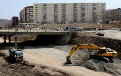 Дорожные работы © РИА Новости, Виталий Аньков