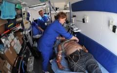 Мобильный госпиталь МЧС в Крымске. Фото с сайта mchs.gov.ru