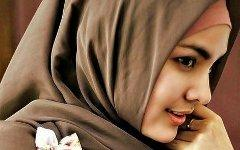 Девушка в хиджабе. Фото с сайта weheartit.com