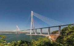 Мост на остров Русский. Фото с сайта rusmost.ru