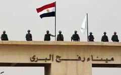 Египетские пограничники на КПП. Фото с сайта cdn.alwafd.org