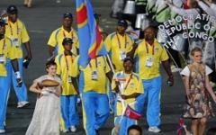 Спортсмены из Конго. Стоп кадр с телеканала Euronews
