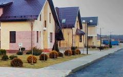 Коттеджный поселок «Вишневый сад». Фото с сайта квартиры-обд.рф