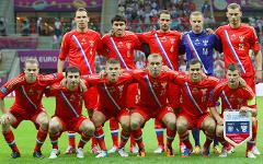 Игроки сборной России. Фото с сайта rfs.ru