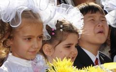 Школьники. Фото с сайта tuvaonline.ru