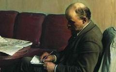 «В. И. Ленин в Смольном». Фото с сайта megabook.ru