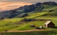 Алтайское село. Фото с сайта goodfon.ru