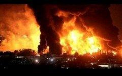 Пожар на НПЗ Amuay. Фото с сайта therealcuba.com