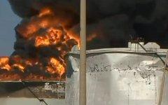 Пожар на НПЗ в Венесуэле. Кадр из видео канала «Россия 24»