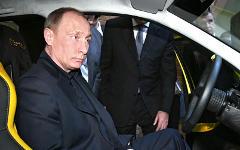 Владимир Путин за рулем © РИА Новости, Алексей Никольский